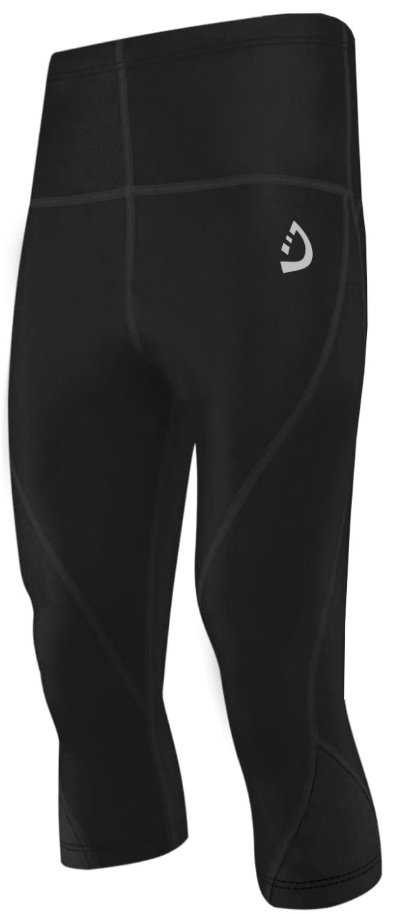 MENS COMPRESSION SHORTS BASE LAYER SKIN FIT GYM FITNESS YOGA SHORT CYCLING